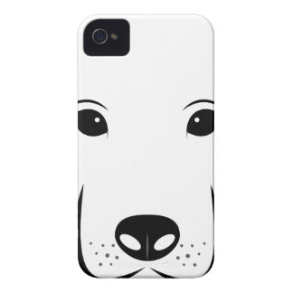 Puppy Drawing iPhone 4 Case-Mate Cases