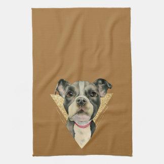Puppy Eyes 3 Kitchen Towel