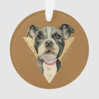 Puppy Eyes 3 Ornament