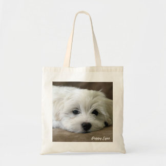 Puppy Eyes Tote Bag