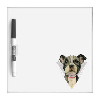 Puppy Eyes Watercolor Painting 2 Dry Erase Board