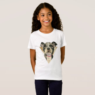 Puppy Eyes Watercolor Painting 4 T-Shirt