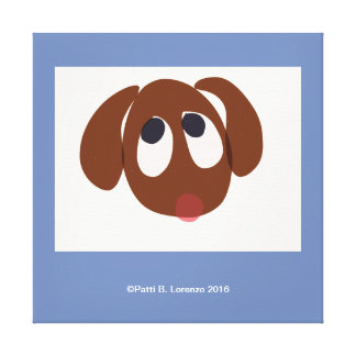 Puppy Face Canvas Print
