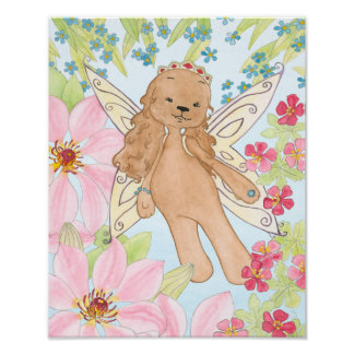 Puppy Fairy dog poster