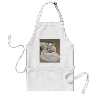 puppy goat in the farm standard apron