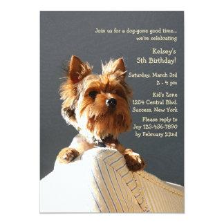 Puppy Invitation