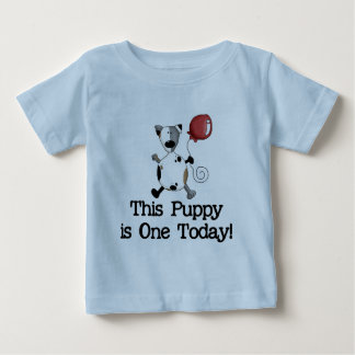 Puppy is One Birthday Tshirts and Gifts