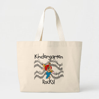 Puppy Kindergarten Rocks Tshirts and Gifts Large Tote Bag