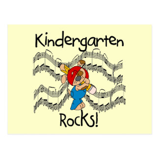 Puppy Kindergarten Rocks Tshirts and Gifts Post Card