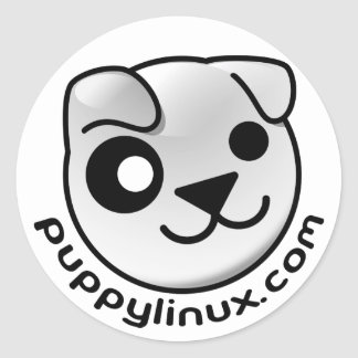puppy linux dot com stickers