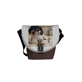 Puppy love bag commuter bags
