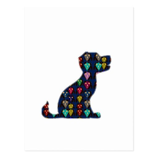 PUPPY LOVE dog pet animal NVN96 NavinJOSHI FUN Post Card