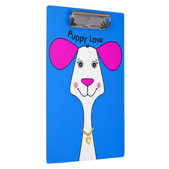 Puppy Love Doodle Clipboard
