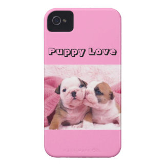 """Puppy Love"" iPhone 4 Cover"