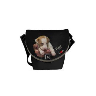 Puppy Love Messenger Bag