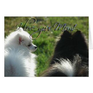 Puppy Love Mother's Day Card