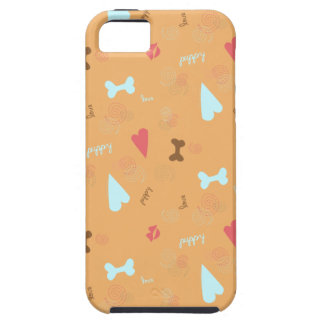 Puppy Love Orange Truffle iPhone 5 Case