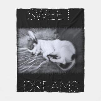 Puppy Love ~ Sweet Dreams Fleece Blanket