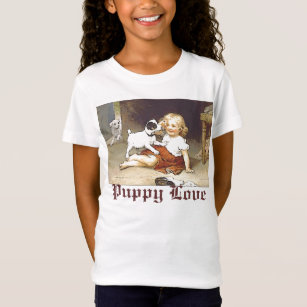 Puppy Love T Shirts Shirt Designs Zazzle Ca