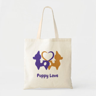 Puppy Love Tote Bag