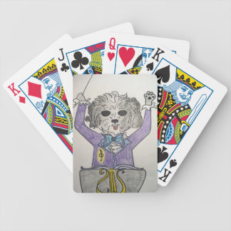 Puppy Maestro Bicycle Playing Cards
