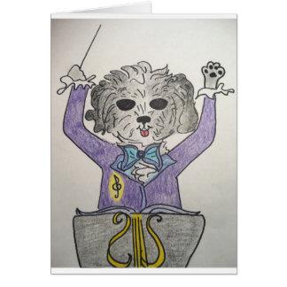 Puppy Maestro Card
