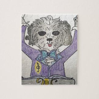 Puppy Maestro Jigsaw Puzzle