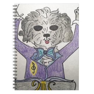 Puppy Maestro Notebook