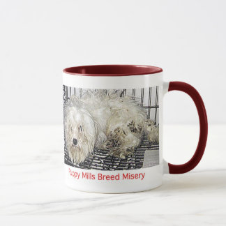 Puppy Mills Breed Misery Mug