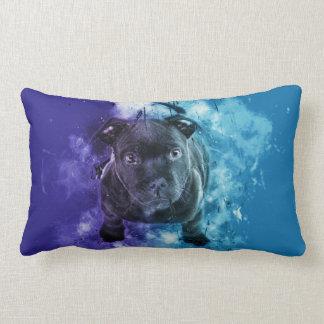 Puppy of pitbull lumbar pillow