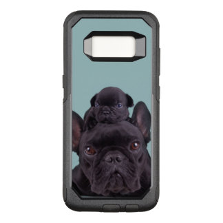 Puppy On The Head Of His Mother OtterBox Commuter Samsung Galaxy S8 Case