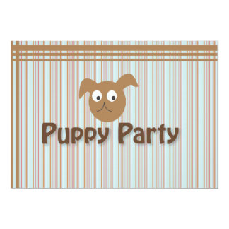 Puppy Party Card