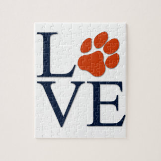 Puppy Paw Love Jigsaw Puzzle