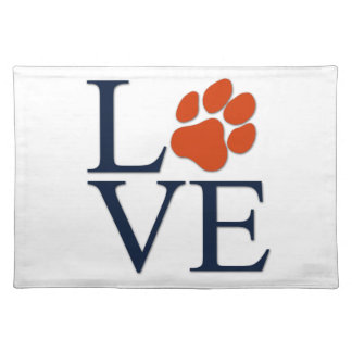 Puppy Paw Love Placemat