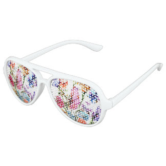 PUPPY PAW PRINTS | FLORAL SUN GLASSES