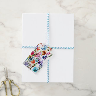 PUPPY PAW PRINTS | FLOWER GIFT TAGS
