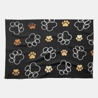 Puppy Paws Kitchen Towel