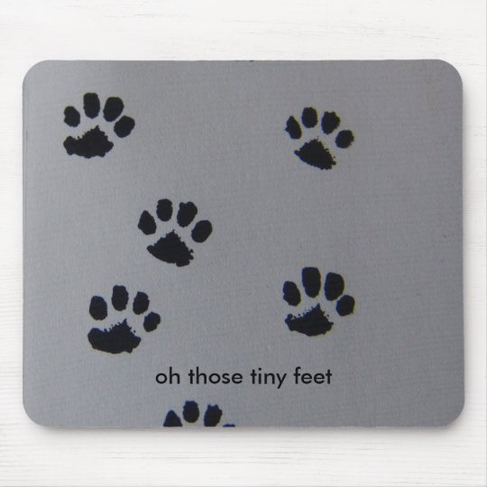puppy Paws Mouse Pad