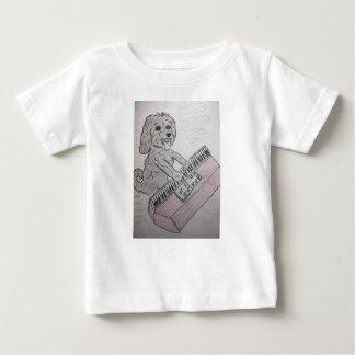 puppy piano baby T-Shirt