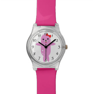 Puppy pink seal watch