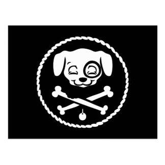 Puppy Pirate Post Card