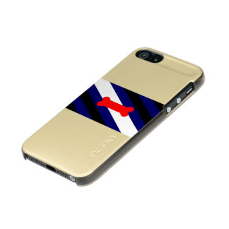 Puppy Play Pride Flag iPhone 5/5s Feather® Gold Incipio Feather® Shine iPhone 5 Case