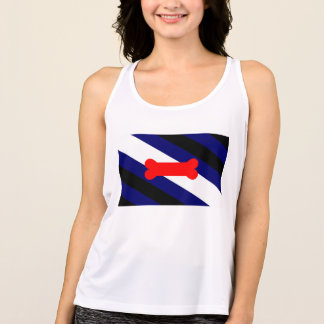 Puppy Play Pride Flag Women's NB Workout Tank Top