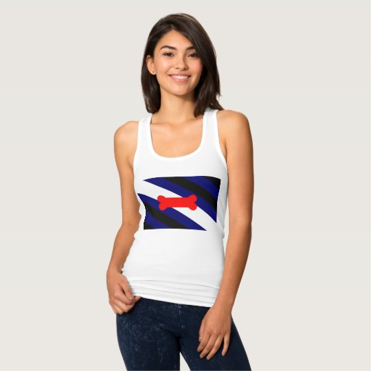 Puppy Play Pride Flag Women's Slim Fit Tank