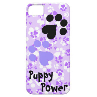 Puppy Power - Paw Prints -  Animal lovers iPhone 5 Cover