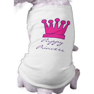 Puppy Princess Crown Doggy Shirt