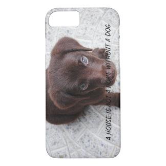 Puppy Quote iPhone 7 Case