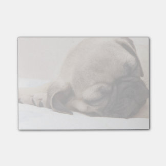 Puppy Soundly Sleeping Post-it Notes