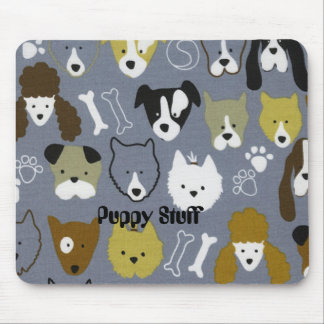 Puppy Stuff Mouse Pad