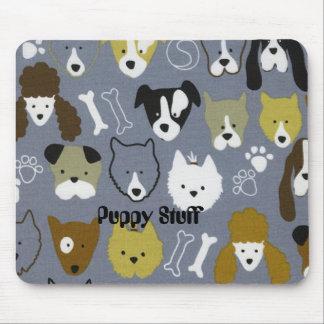 Puppy Stuff Mouse Pad